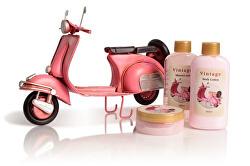 Sada tělové kosmetiky do koupele Pink Vespa Rosa (Shower Set Rose)