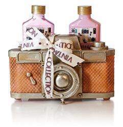 Sada tělové kosmetiky Strawberry Camera (Bath Set Camera)