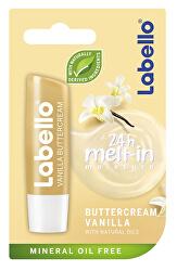 Hydratační balzám na rty s vůní vanilky (Vanilla Butter Cream Caring Lip Balm) 5,5 ml
