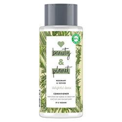 Čisticí kondicionér s rozmarýnem a vetiverem pro vlasy s tendencí se mastit (Delightful Detox Conditioner) 400 ml