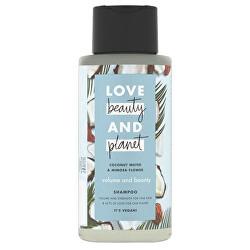 Šampon na jemné vlasy s kokosovou vodou a květy mimózy (Volume and Bounty Shampoo) 400 ml
