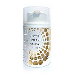 Nočná omladzujúci pleťová maska Platine M 50 g
