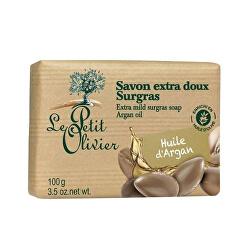 Extra jemné mýdlo Arganový olej (Extra Mild Surgras Soap) 100 g