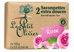 Extra Gentle Soap Roses 2 x 100g