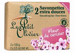Extra jemné mýdlo Třešňový květ 2 x 100 g