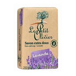 Extra jemné prírodné mydlo Levanduľa (Extra Mild Soap) 250 g