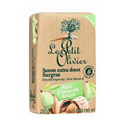 Săpun natural fin din ulei de migdale (Extra Mild Surgras Soap) 250 g