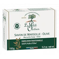 Marseillské mýdlo Oliva (Marseille Soap) 150 g