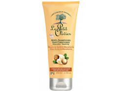 Obnovující kondicionér pro suché vlasy Bambucké máslo a makadamový olej (Hair Conditioner) 200 ml