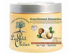 Obnovující maska pro suché vlasy Bambucké máslo a makadamový olej (Repairing Mask) 330 ml
