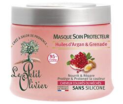 Ochranná maska pro barvené vlasy s granátovým jablkem a arganovým olejem (Hair Mask) 330 ml