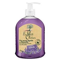 Přírodní tekuté mýdlo s olivovým olejem Levandule (Pure Liquid Soap) 300 ml