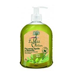Săpun lichid natural cu ulei de masline Oliva ( Pure Liquid Soap) 300 ml