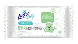 Vlhčené ubrousky Baby 100% Biodegradable 48 ks