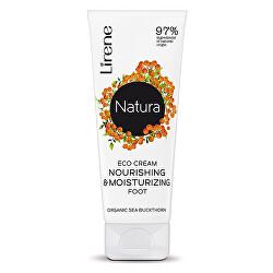 Hydratační a vyživující krém na nohy Natura (Nourishing & Moisturizing Foot Cream) 75 ml