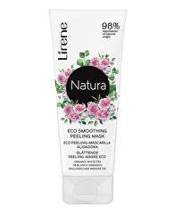 Peelingová maska Natura 2 v 1 (Eco Smoothing Peeling Mask) 75 ml