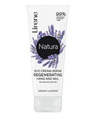 Regenerační sérum na ruce a nehty pro suchou a velmi suchou pokožku Natura (Regenerating Hand and Nail Cream-Serum) 75 ml