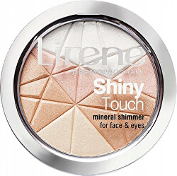 Rozjasňující minerální pudr na obličej a oči Shiny Touch (Mineral Shimmer) 9 g