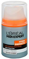 Hydratačný krém proti známkam únavy pre mužov Hydra Energetic 50 ml