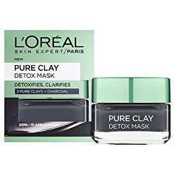Intenzívna čistiaca rozjasňujúca maska Pure Clay (Detox Mask)