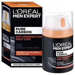 Denní krém proti nedokonalostem Paris Men Expert Pure Carbon (Anti-Imperfection Daily Care) 50 ml