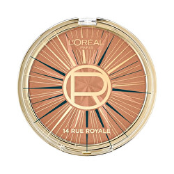 Bronzer a konturovací pudr Wake Up & Glow Rue Royale Limited Edition 18 g