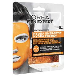 Textilní hydratační maska pro muže Men Expert Hydra Energetic 32 g