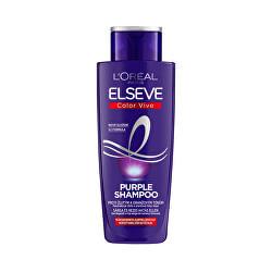 Sampon melírozott, szőke és szürke hajra Elseve Color-Vive Purple (Shampoo) 200 ml