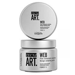 Stylingová pasta na vlasy Tecni.Art Web (Desing Sculpting Paste) 150 ml