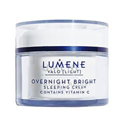 Rozjasňující noční krém s vitamínem C Light (Overnight Bright Sleeping Cream Contains Vitamin C) 50 ml