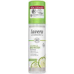 Spray deodorant răcoritor cu aromă lime Refresh (Deo Spray) 75 ml