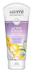 Sprchový a koupelový gel Active touch Bio zázvor a Bio matcha (Body Wash Gel) 200 ml