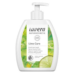 Osvěžující tekuté mýdlo s pumpičkou Lime Care (Hand Wash) 250 ml