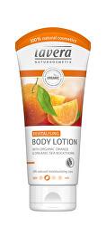 Tělové mléko BIO pomeranč & BIO rakytník (Revitalising Body Lotion) 200 ml