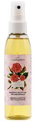 Exkluzívny masážny & telový olej s ružou 155 ml