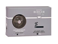 Dárková sada difuzér do auta černý + náplň Antiodour tabák