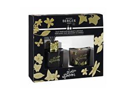 Lolita Lempicka ajándékkészlet diffúzor 80 ml + gyertya 80 g fekete
