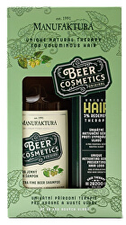 Pivní terapie pro krásné a husté vlasy