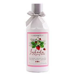 Hydratační tělové mléko Jahoda & Bezový květ 255 ml