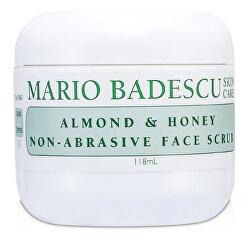 Pleť ový peeling Almond & Honey (Non-Abrasive Face Scrub) 118 ml