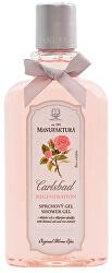 Sprchový gel s vřídelní solí a růží 300 ml