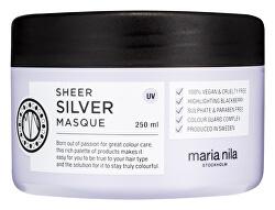 Vyživující maska pro blond vlasy Sheer Silver (Masque) 250 ml