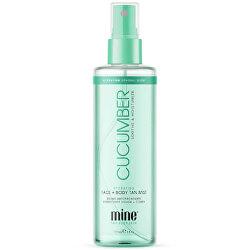Pleťová a tělová mlha s okurkou (Cucumber Hydrating Face & Body Mist) 177 ml