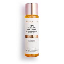 Čisticí pleťové tonikum Skincare 2.5% Glycolic Acid (Cleanse and Condition Tone) 200 ml