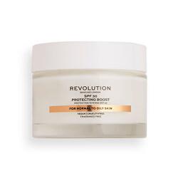 Denný krém pre normálnu až mastnú pleť Revolution Skincare ( Moisture Cream SPF 30 Normal to Oily Skin) 50 ml