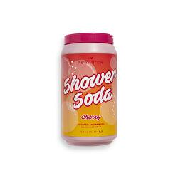 Gel de duș hrănitor  Shower Soda Cherry (Scented Shower Gel) 320 ml