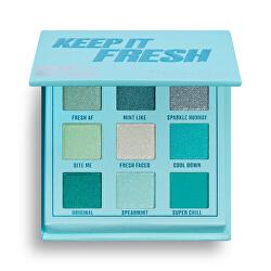 Paletka očních stínů Keep It Fresh (Shadow Palette) 11,7 g