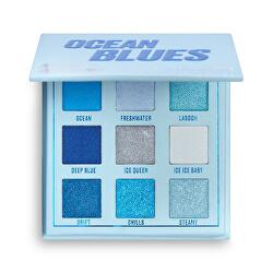 Paletă cu farduri de ochi Ocean Blues (Shadow Palette) 11,7 g
