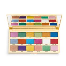 Paletă farduri de ochiSprinkles Chocolate (Sprinkles Chocolate Palette) 22 g