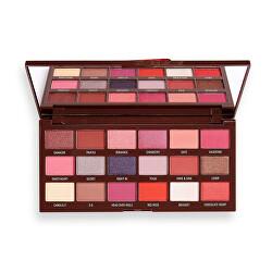 Paletă cu nuante pentru ochi Chocolate Truffle(Shadow Palette) 18 x 1 g
